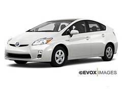Hybrid Car Rental Information Toyota Prius
