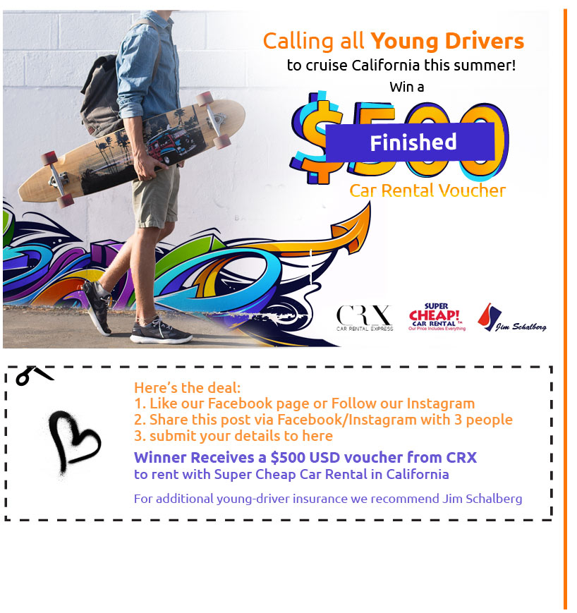 Young Driver Road Trip Contest
