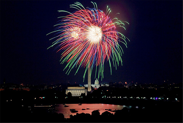 Here's Where To Travel For Independence Day fireworks