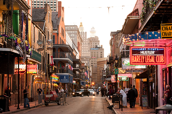 New Orleans Car Rental Cities